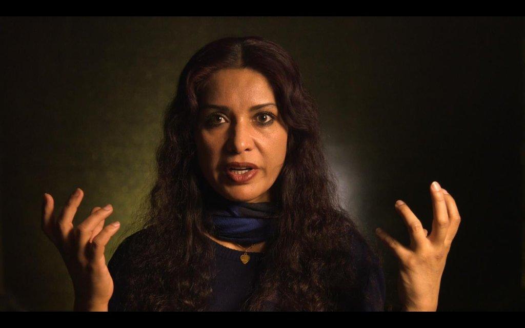 """لینا علم در فیلم مستند """" قهرمانان واقعی"""". عکس از  صفحه فیسبوک Truwarriorsdocumentary"""
