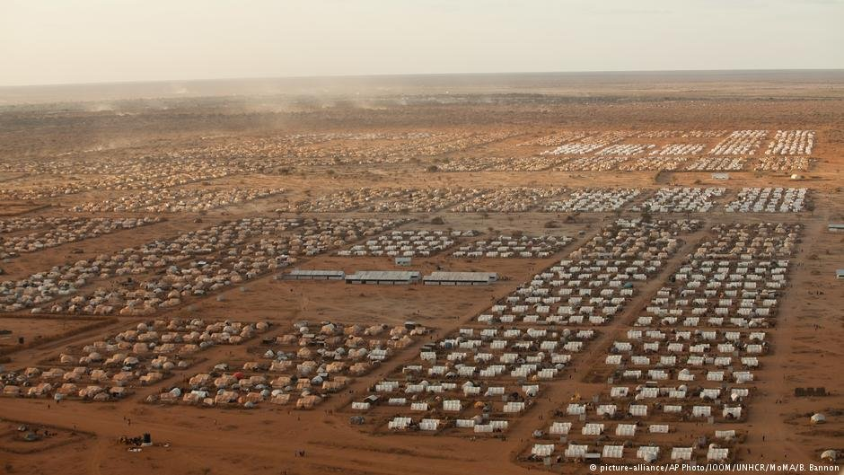 An aerial view of the worlds largest refugee camp - Dadaab in Kenya  Photo Picture-allianceAP PhotoIOMUNHCRMoMABBannon
