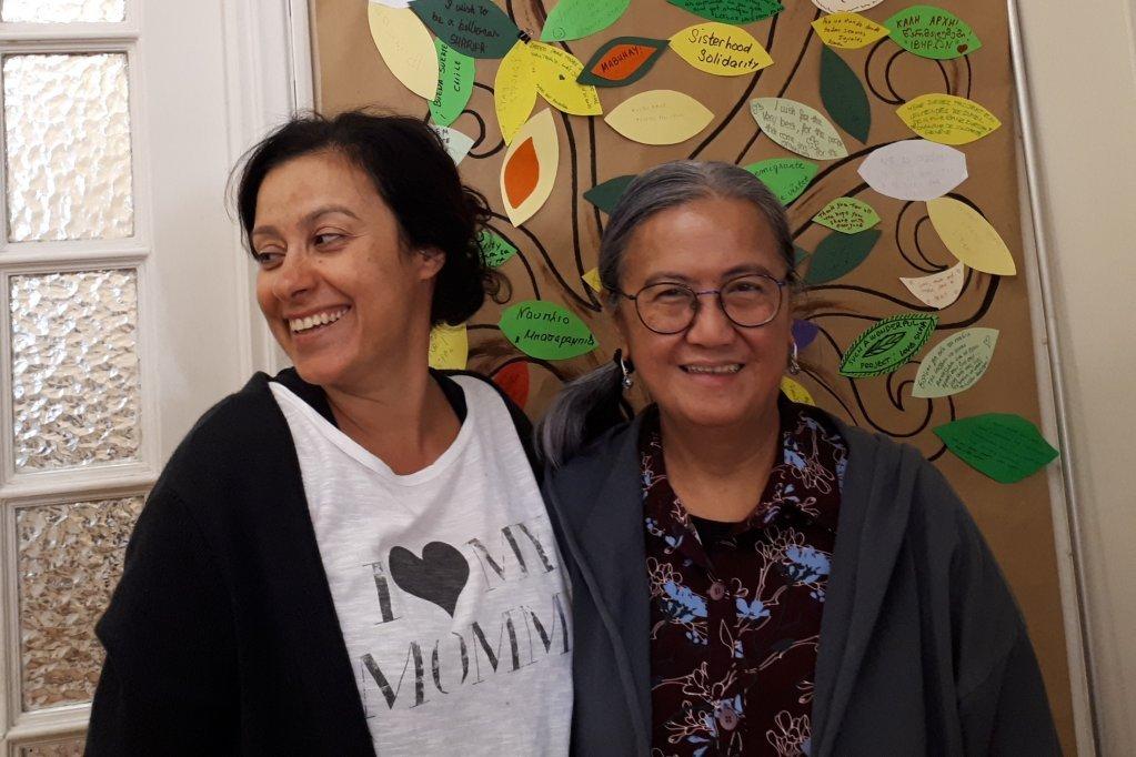 Les co-fondatrices Nadina Christopoulo (gauche) et Deborah Carlos-Valencia | Crédit: Omaira Gill