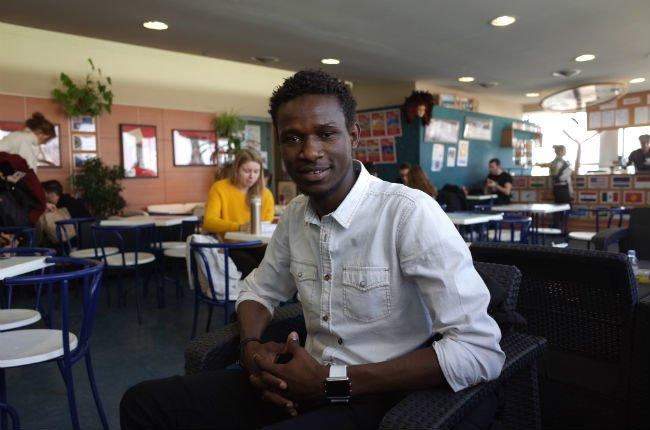 Alseny est aujourd'hui en Licence 1 de sociologie et histoire. Crédit : Julia Dumont/ InfoMigrants