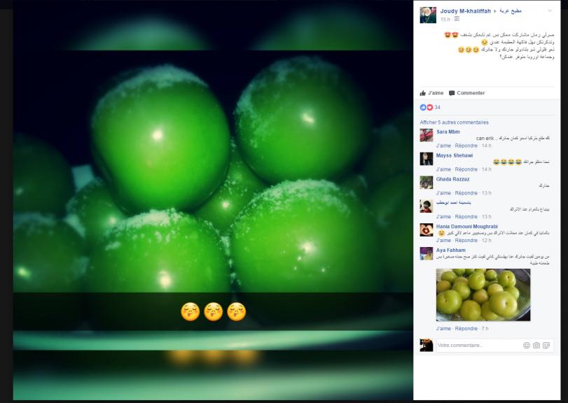 Les membres du groupe change des informations sur comment trouver des fruits et lgumes typiques de leur pays dorigine