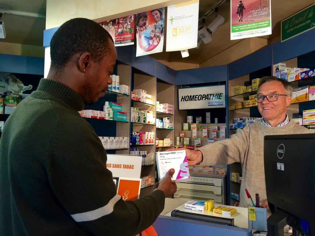 Le pharmacien de Peyrelevade. Crédit : Corinne Binesti