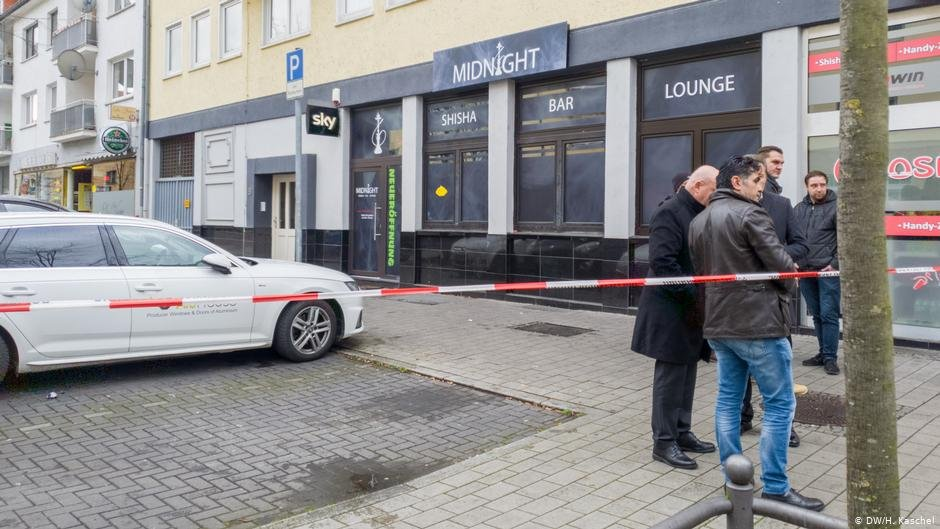 The gunman opened fire at the Midnight shisha bar before driving to another part of the city | Photo: DW/H.Kaschel