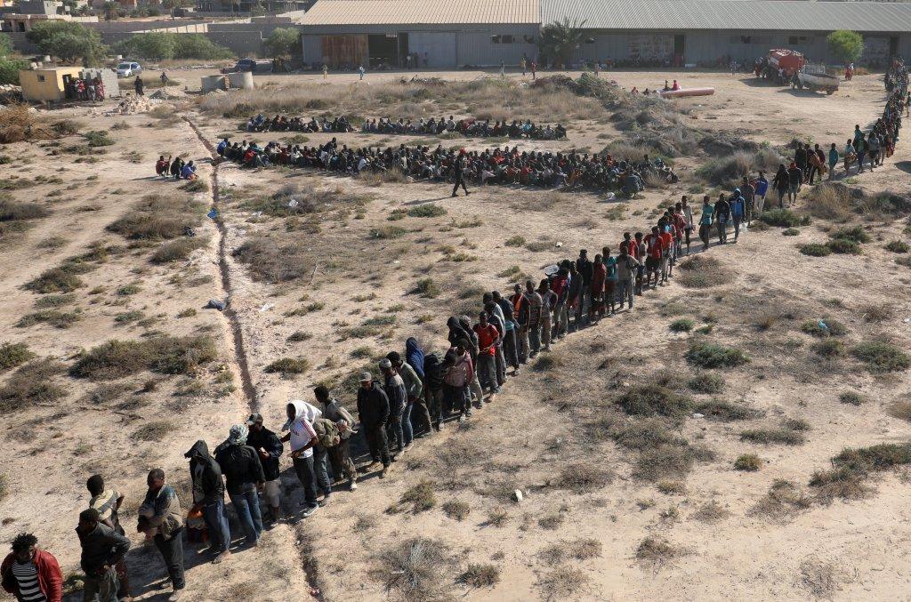 Parmi les migrants détenus en Libye, nombreuses sont les personnes originaires d'Érythrée. Crédit : Reuters