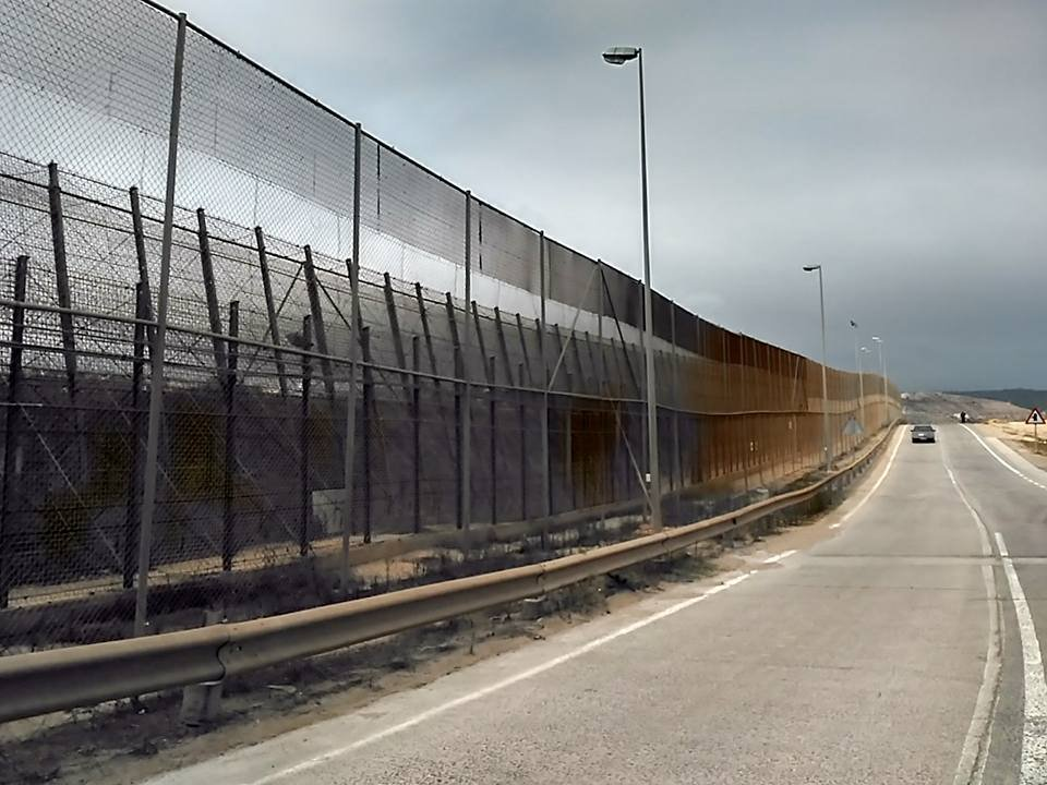 The border fence in Melilla, Spain | Credit: Judit Alsono