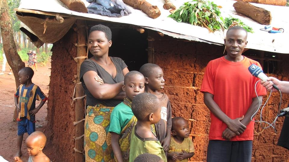 Michel's family escaped the conflict in Burundi and fleed to Tanzania  Copyright: Linda Staude/ ARD