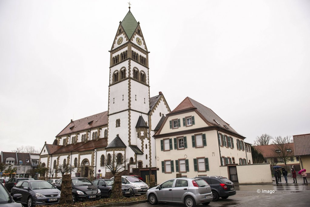 The Catholic church St Sebastian in Ketsch Baden-Wrttemberg which provided church asylum for an Iranian refugee family   Photo Imago  EPD Heike Lyding