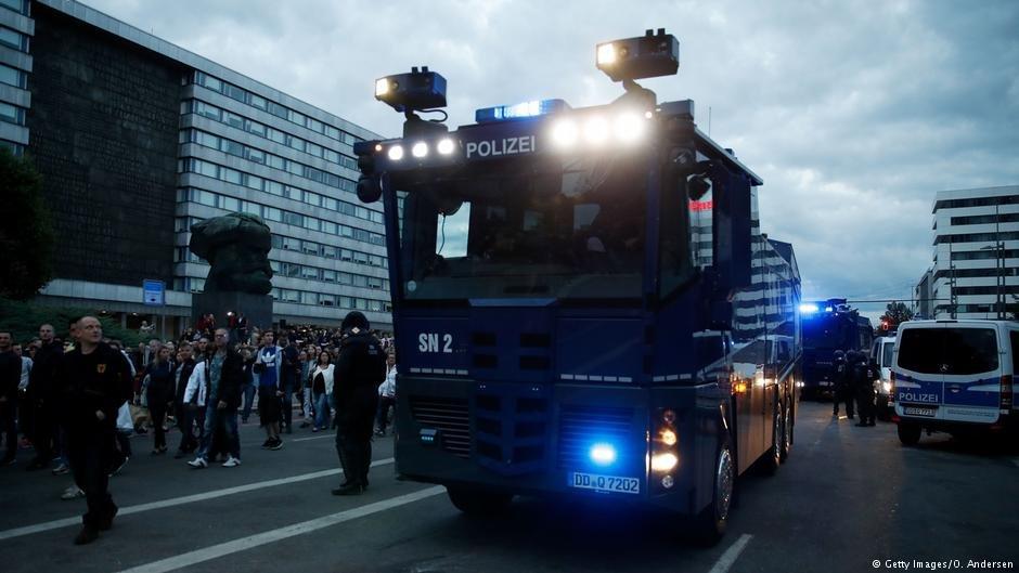 حضور سنگین پولیس ضدشورش