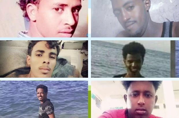 Six men believed to be among the migrants who died in April - a Maltese official has testified that he was instructed to push the boat back to Libya  Screenshot from Avvenireit 29 April 2020