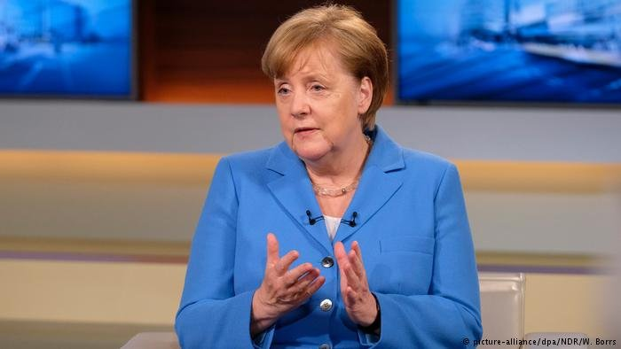 انگلا مرکل، صدراعظم آلمان