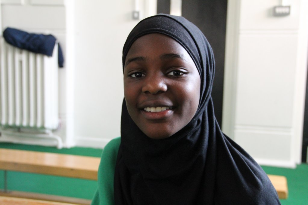 Aishat est scolarise  lcole de Surrey Square et demande la nationalit britannique cette anne Crdit  Brenna Daldorph
