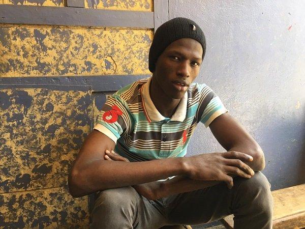 A 23 ans Omar assure quil va bientt essayer de se rendre en Europe Crdit  Leslie Carretero
