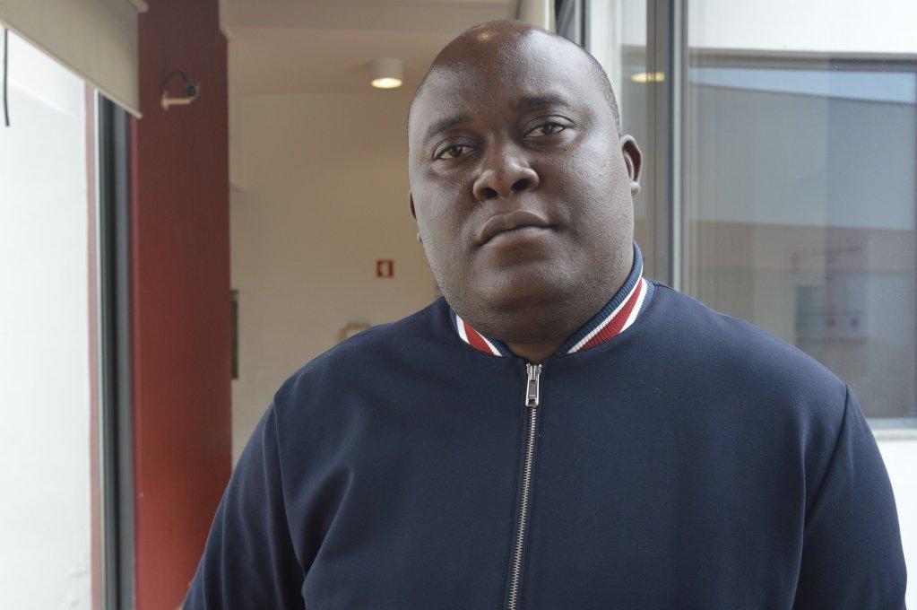Ives-Christian Njike Nya originally from Cameroon arrived in Portugal last November Credit Mava Chicken  InfoMigrants