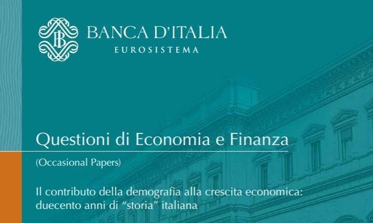 ansa / غلاف الدراسة التي أصدرها بنك إيطاليا المصدر: بنك إيطاليا