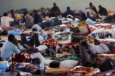 لاجئين أفارقة في الجزائر