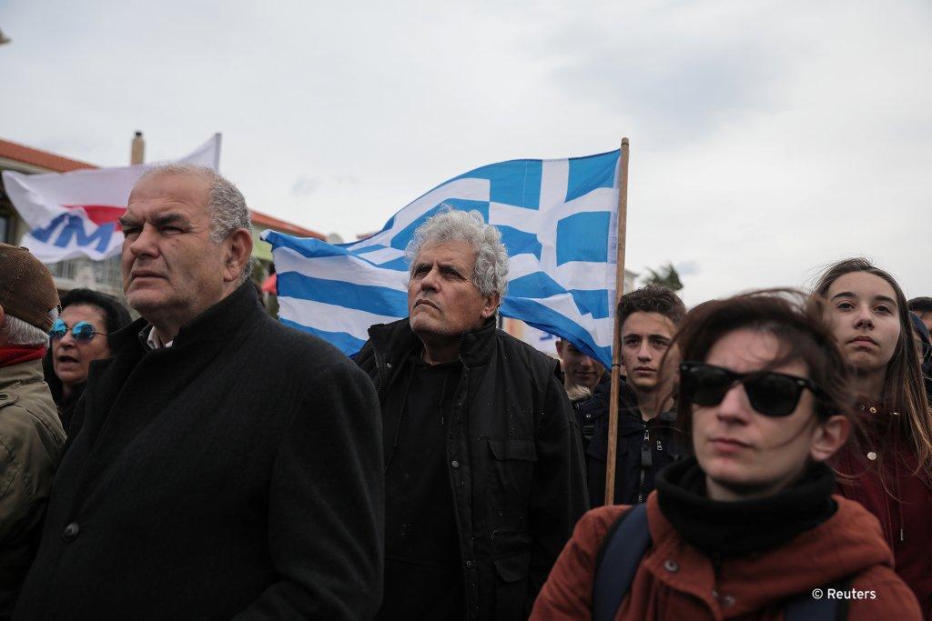 تظاهرات مردم بومی در جزیره های یونان علیه ایجاد کمپ های جدید برای مهاجران