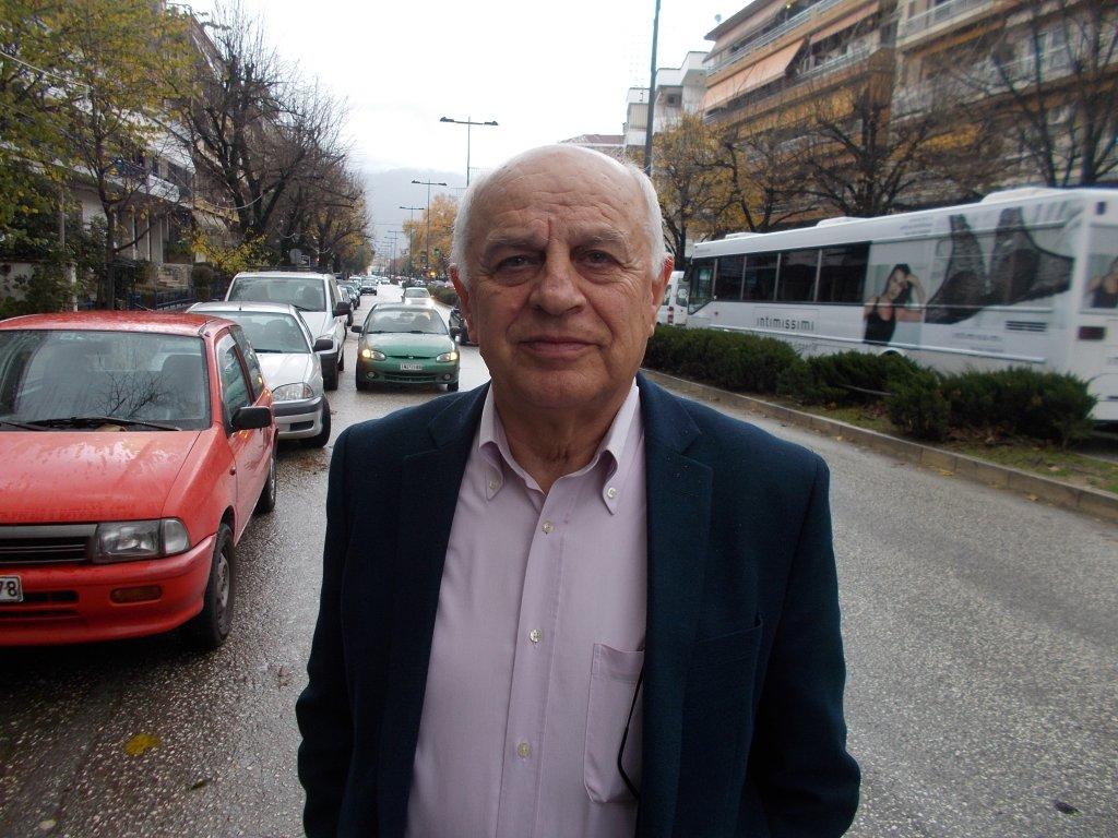 Andreas Papaspyrou, mayor of Konitsa | Credit: Papadimitriou