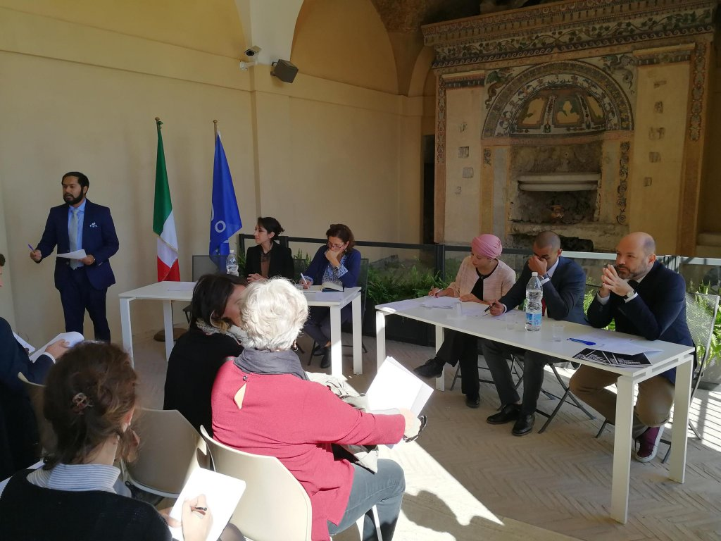 CONNGI was presented in Rome at the IOM headquarters | Credit: ANSA