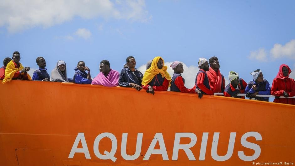 The Aquarius saved about 4,700 lives in less than three years | COPYRIGHT: picture-alliance/R. Basile