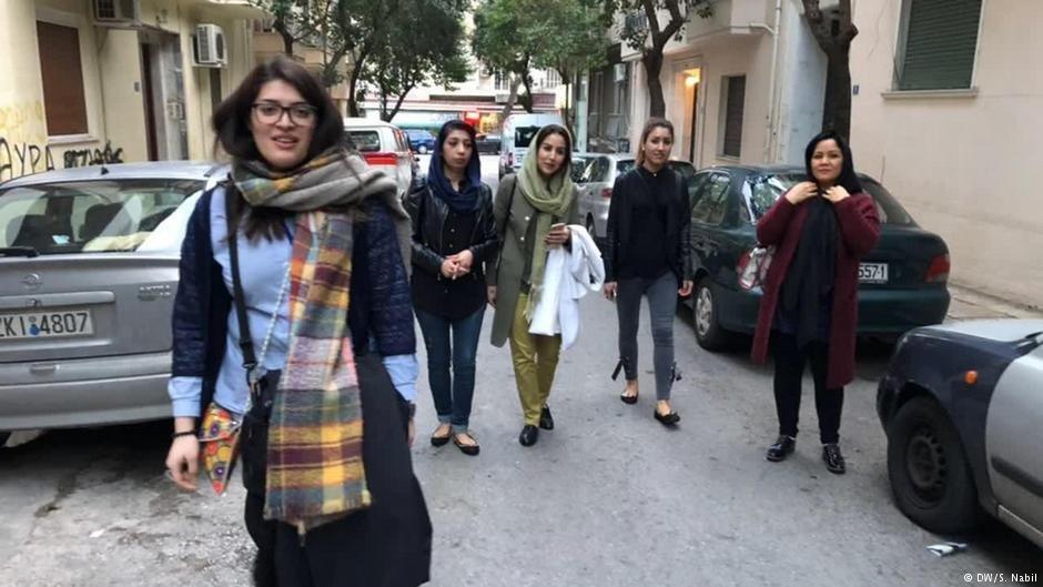 زنان افغان فعال مدنی در اروپا