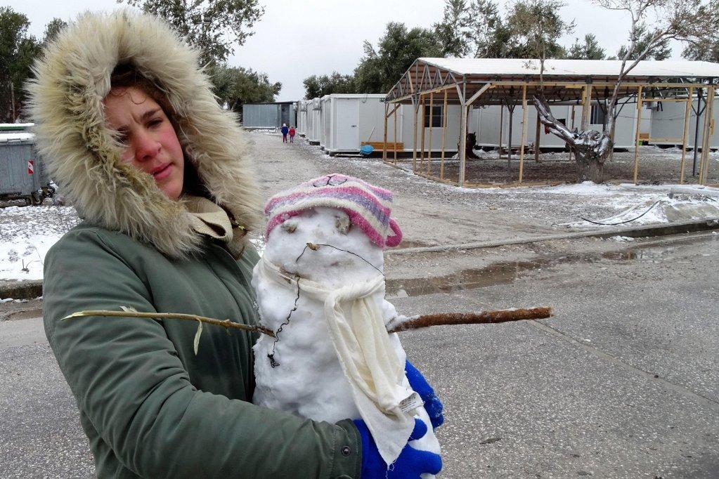 ansa / هيومان رايتس ووتش: فشل اليونان في حماية النساء والأطفال في موريا