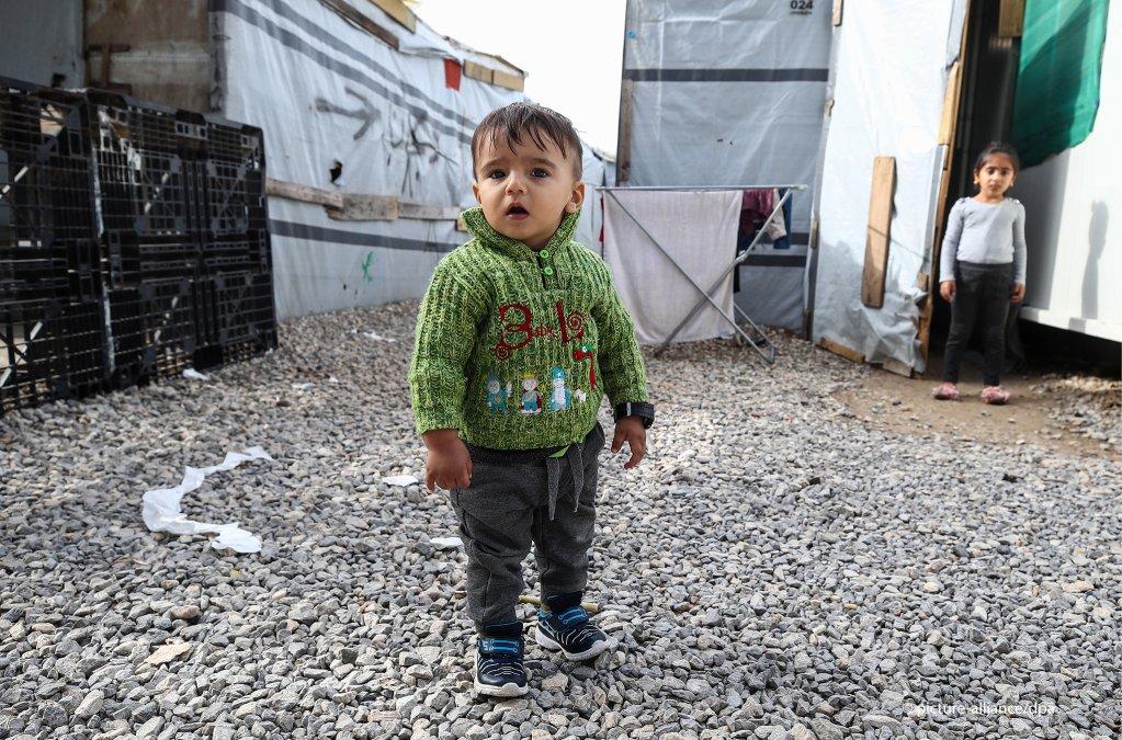 Among the residents of Ritsona there are dozens of children  Photo Valery SharifulinTASSdpa