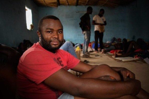 Patrick, rescapé nigérian du désert du Ténéré au Niger. Crédits : OIM