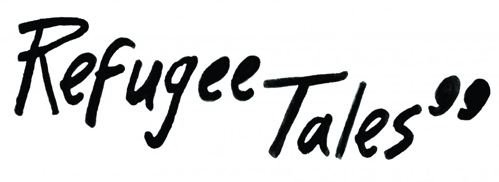 Logo for Refugee Tales  Credit With kind permission of the Gatwick Detainees Welfare Group and Refugee Tales