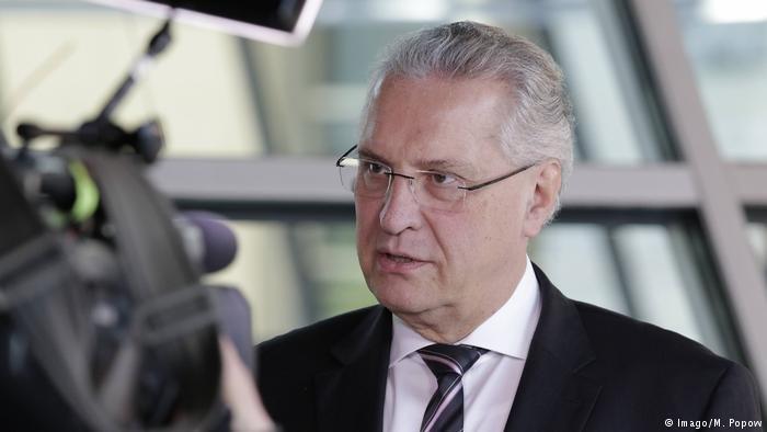 Interior minister of Bavaria, Joachim Herrmann (CSU)