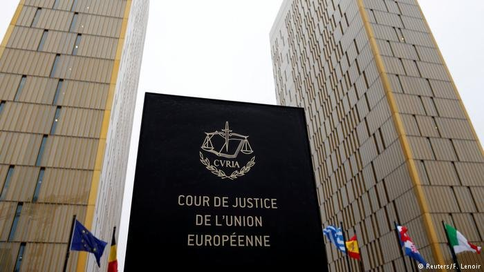 European Court of Justice in Luxembourg