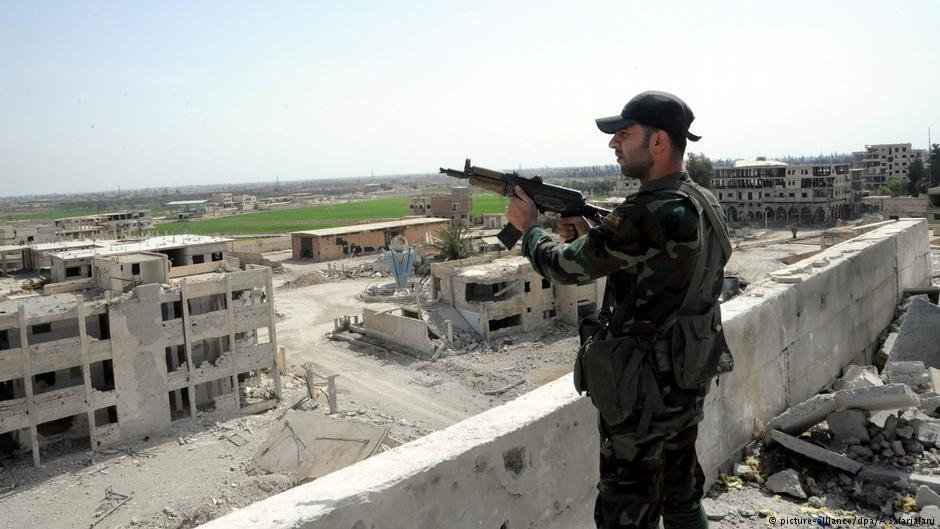 """بخش های بیشتر سوریه از کنترول گروه تروریستی """"دولت اسلامی"""" خارج شده است."""