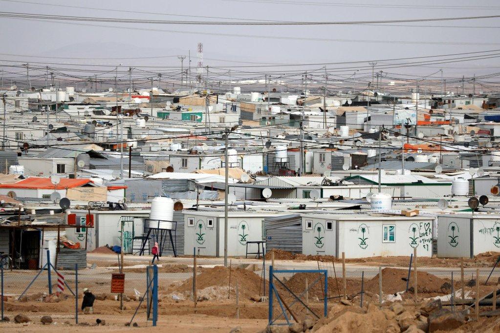 A general view of the Zaatari refugee camp, Jordan Credit:UNHR