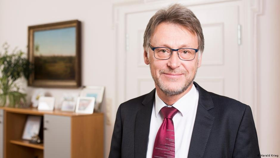 For a tolerant Magdeburg: Otto-von-Guericke University rector Jens Strackeljan | Photo: Harald Krieg