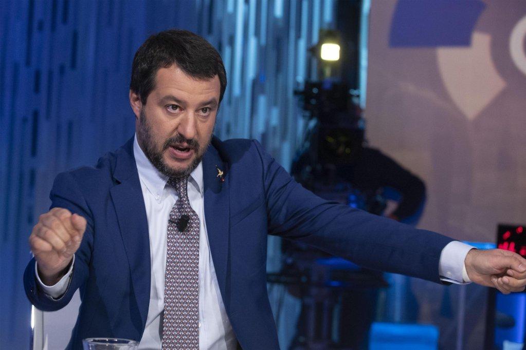 Le ministre italien de lIntrieur Matteo Salvini  Photo  ANSA