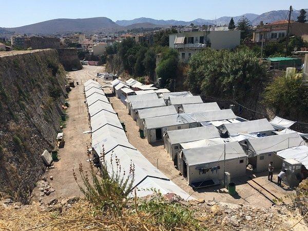 Souda refugee camp. Credit : Charlotte Boitiaux