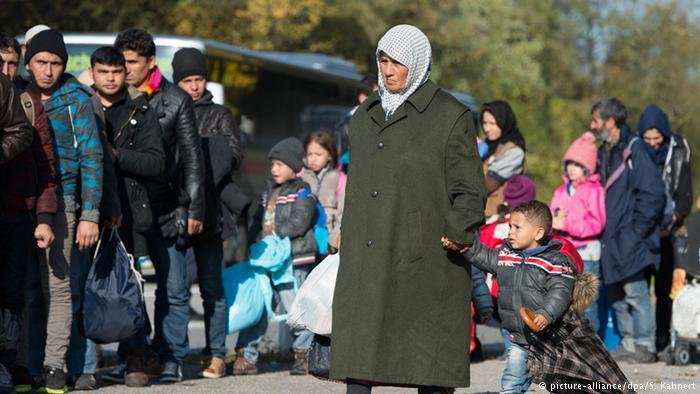number asylum seekers europe from sudan