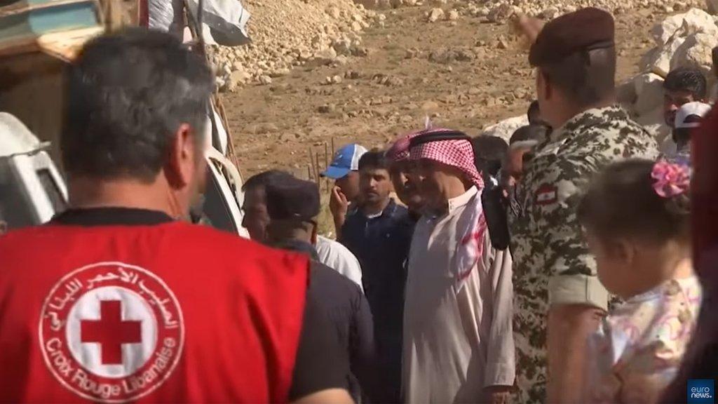 يوتيوب   |نازحون سوريون يعودون من لبنان