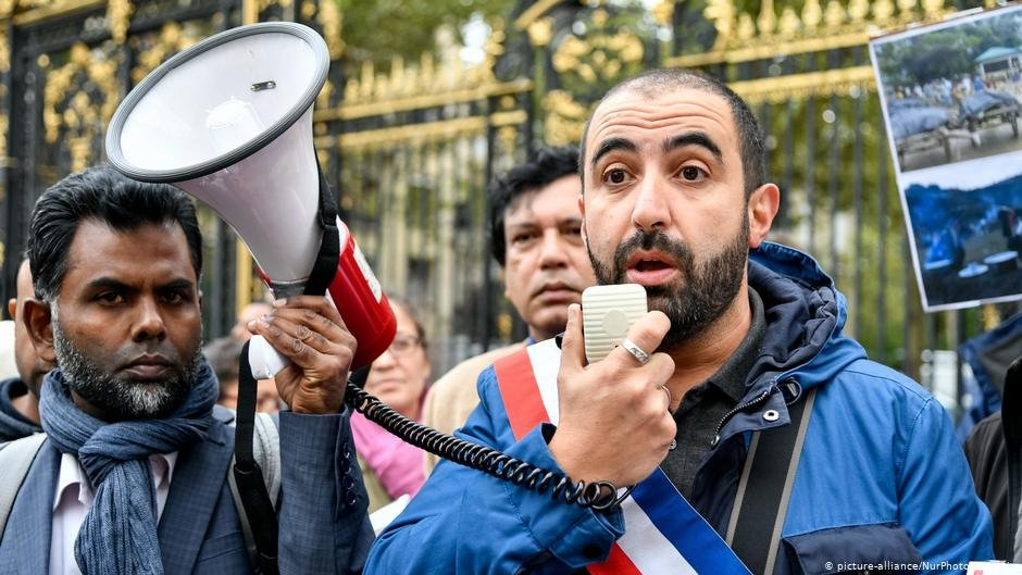 Madjij Messaoudene, pictured in 2017, says racism is 'structural' in French policing | Photo: picture-alliance/NurPhoto
