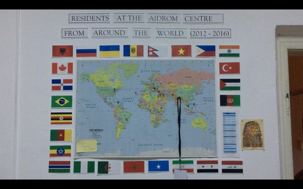 الذين استفادوا من خدمات المركز على مدى 5 اعوام قدموا من هذه الدول
