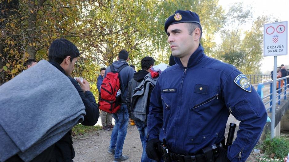 تصویر از آرشیف: مهاجران در کرواسیا