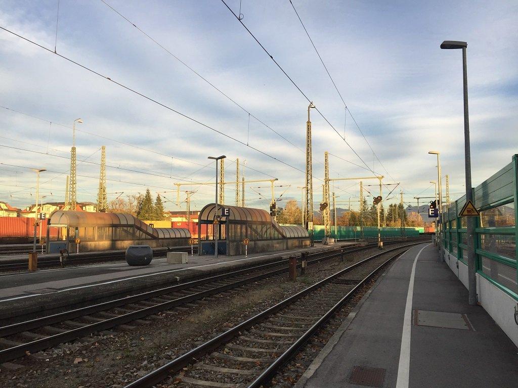 محطة قطارات فرايلاسينغ. تصوير: آسيم سليم