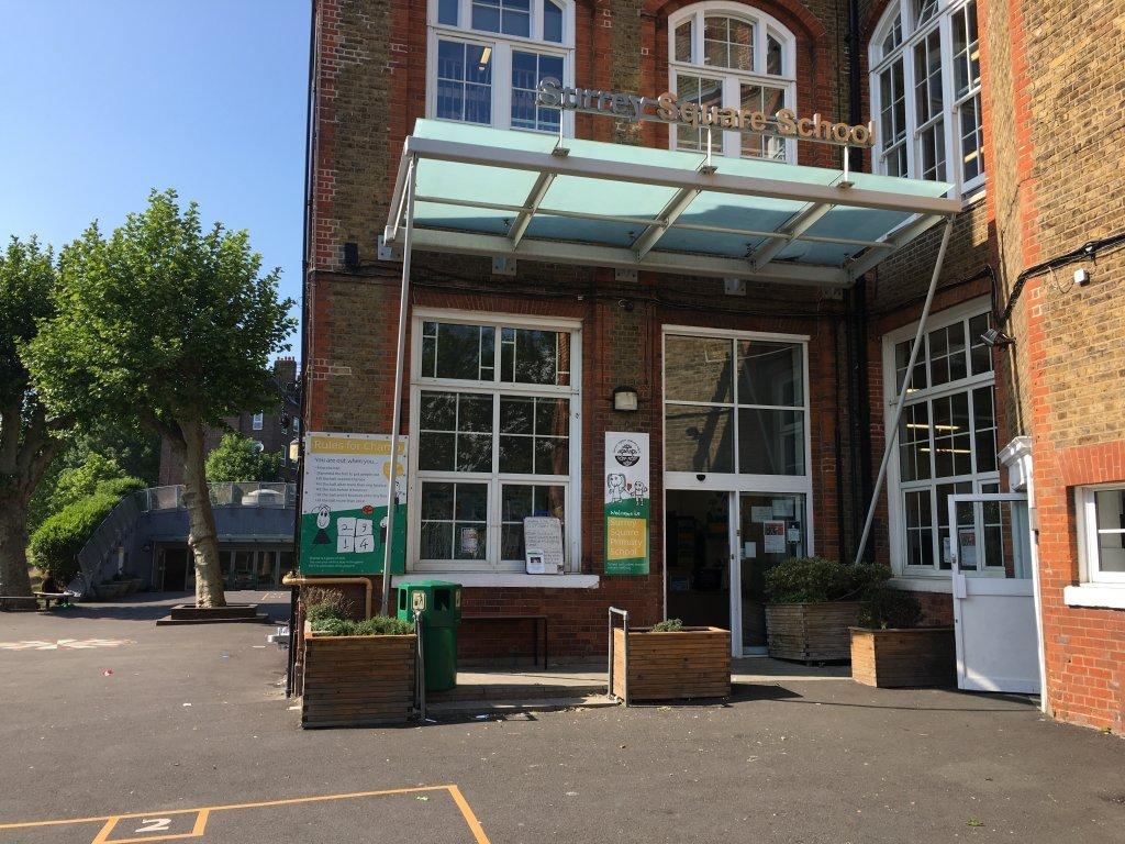 Lcole primaire de Surrey Square est situe  Southwark dans le sud de Londres Crdit  Brenna Daldorph