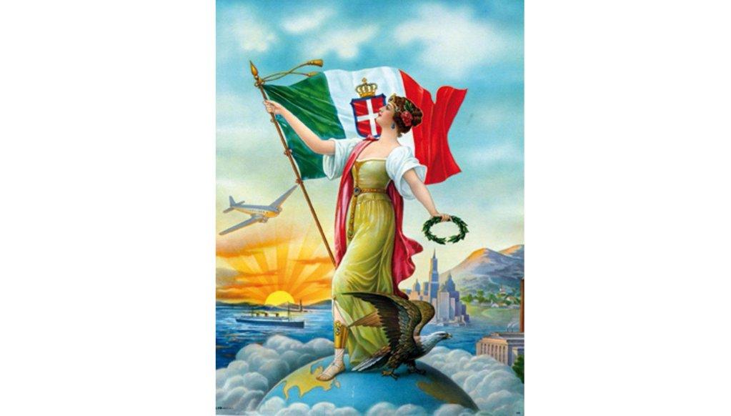 An image of the exhibit ''Partono i Bastimenti'' in Palermo, dedicated to Italian emigration to the Americas. ANSA/FONDAZIONE TERZO PILASTRO