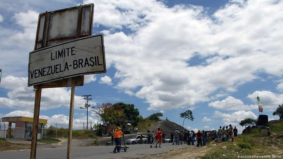 Dozens of refugees cross the border from Venezuela every day in Roraima state in northern Brazil  Photo Picture-allianceAPEBarros