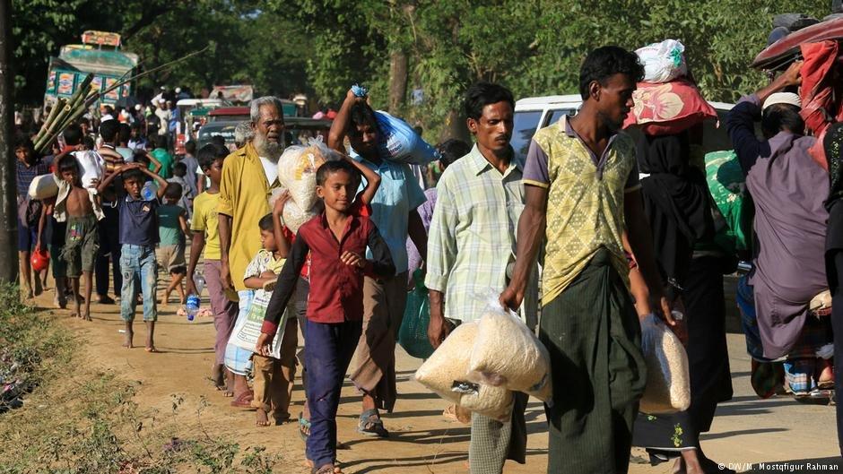 عکس از دویچه وله/ رقم بیجاشدگان داخلی در سال گذشته به بیش از ۶۸ میلیون تن در جهان رسیده است.