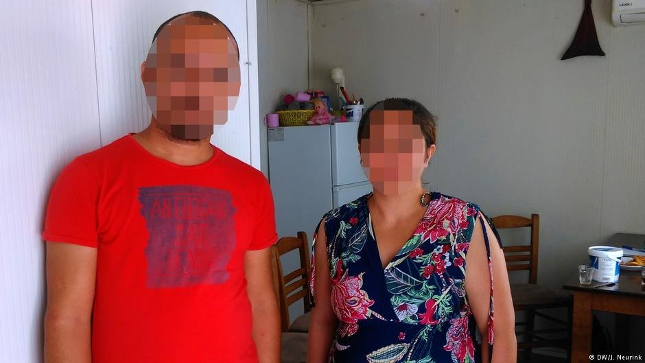 Kheiri Zabri and his wife Zairan thought they had escaped from the 'Islamic State' group | Credit: DW/J. Neurink
