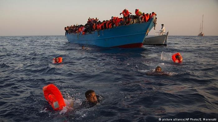 پناهجویان در بحیره مدیترانه