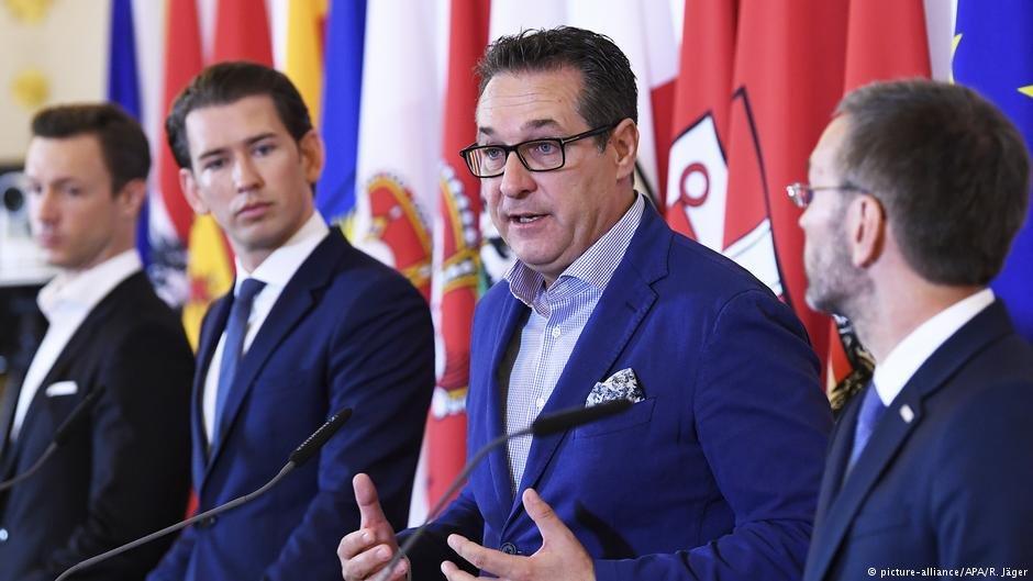 نشست خبری هیات دولت اتریش درباره مبارزه با اسلام سیاسی