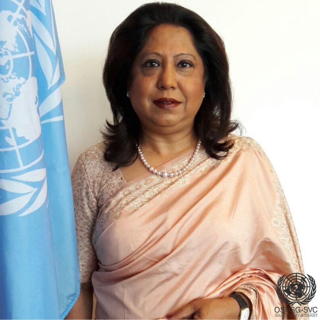 Pramila Patten Special Representative of the Secretary-General UN on Sexual Violence in Conflict  Photo Private