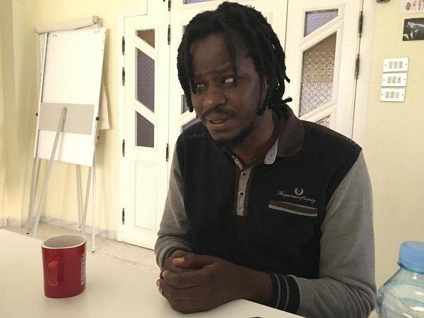 Touré Blamassi, le directeur d'ALDA, une autre association qui vient en aide aux Africains subsahariens en Tunisie. Crédit : InfoMigrants